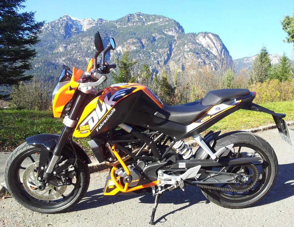 Bild KTM Duke 125