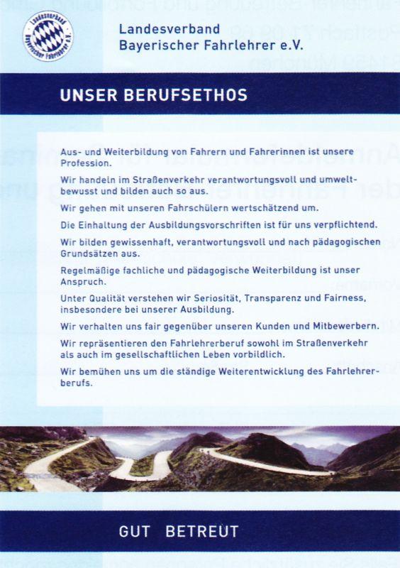 Info Verbandsfahrschule