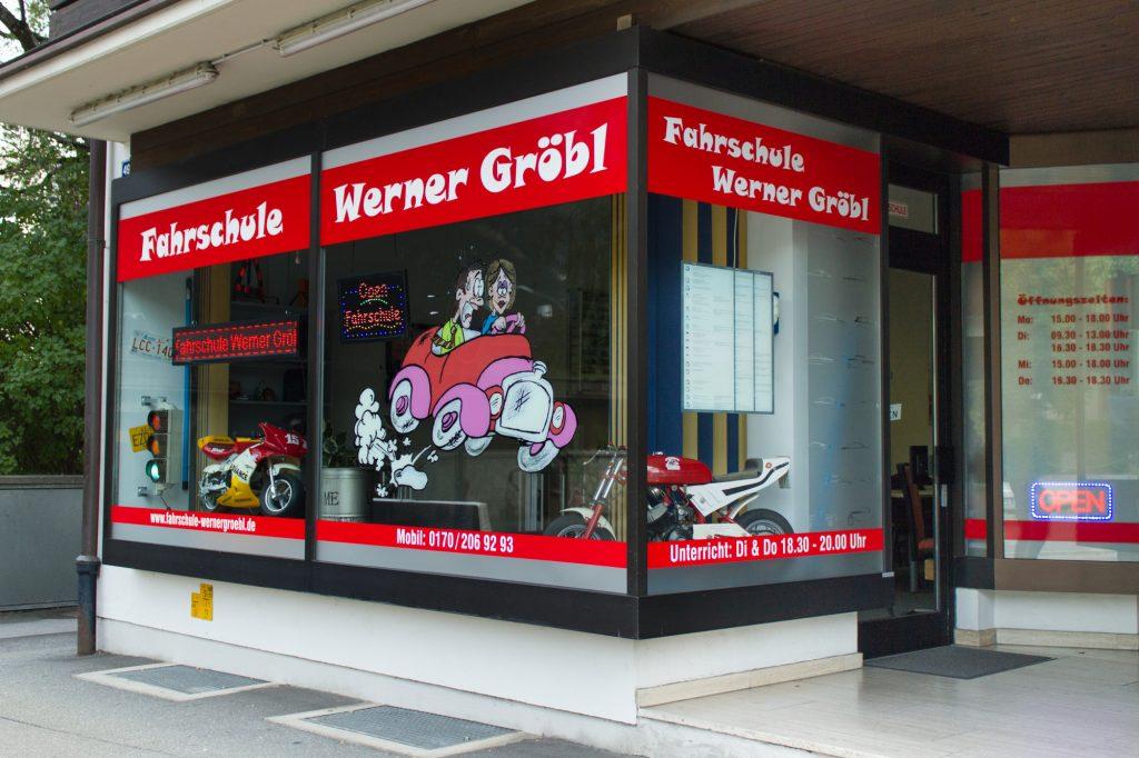 Bild Fahrschule Werner Gröbl Außenansicht